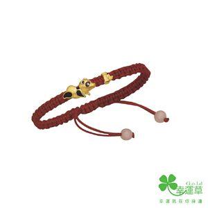 胸有成竹彌月手環-彌月金飾