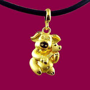 如意豬-黃金精品