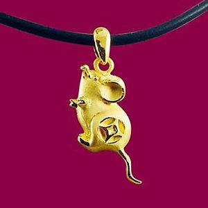 金錢鼠-十二生肖金飾