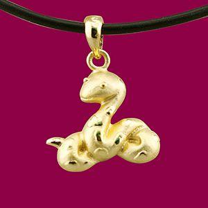 金蛇狂舞-十二生肖金飾