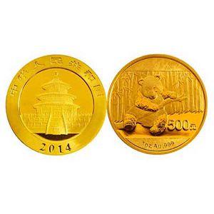 熊貓1盎司-紀念金幣