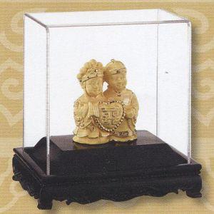 永結同心-立體金箔畫-絨沙金