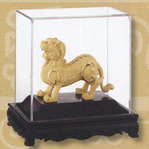 招財貔貅-立體金箔畫-絨沙金