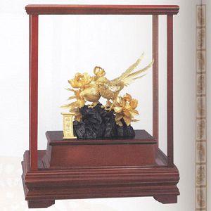 錦繡前程-立體金箔畫-櫥窗