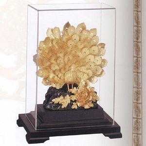 富貴吉祥-立體金箔畫-櫥窗