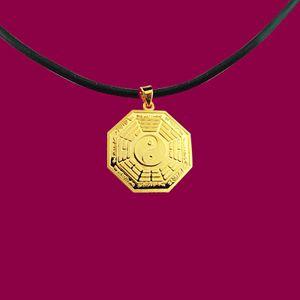 平安1錢重-黃金八卦墜鍊