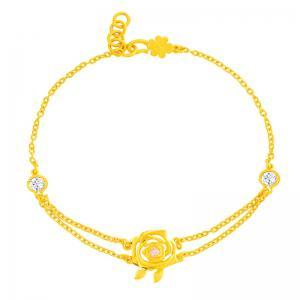 至美-黃金手鍊
