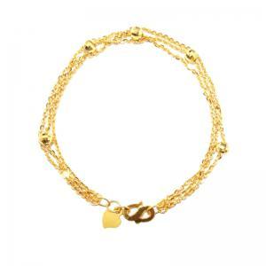 浪濤情緣-黃金手鍊