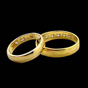 長久穩鑽-結婚對戒