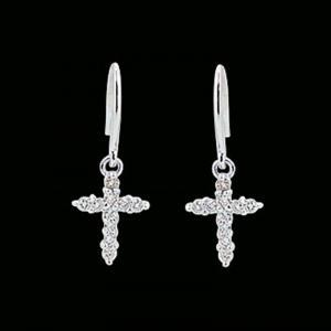神聖的愛-鑽石耳環