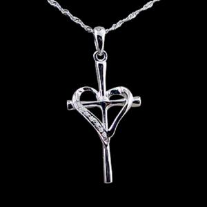 十足的愛-鑽石墜子