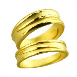 同感一心-黃金結婚對戒