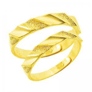 牽動-黃金結婚對戒