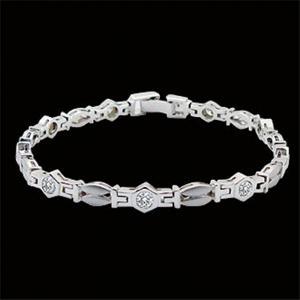 率性-鑽石手鍊