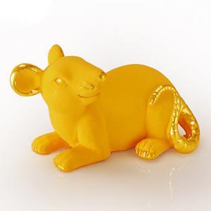 迷你寫實鼠-黃金精品