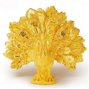 孔雀開屏-黃金精品