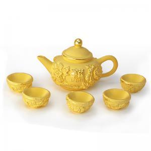 小茶碗組-黃金精品
