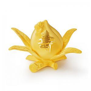 福壽單桃(1錢)-黃金精品