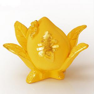 福壽單桃(2.5錢)-黃金精品
