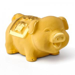 極迷你福寶豬-金飾禮品