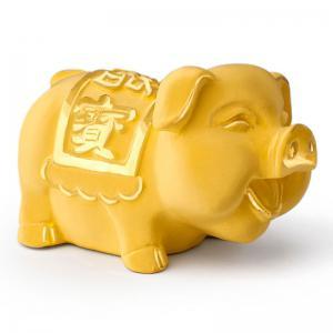 迷你福寶豬-黃金精品