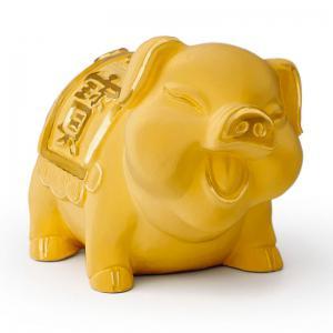 福寶豬(3錢)-黃金精品