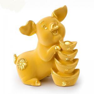 步步高升豬-金飾禮品