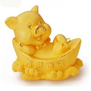 招財進寶元寶豬-金飾禮品