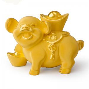 納福豬-金飾禮品