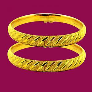 富貴年年-黃金手鐲