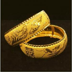 龍鳳呈祥-黃金手鐲