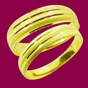 承諾之愛-黃金結婚對戒