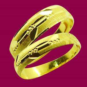 一生約定-黃金結婚對戒