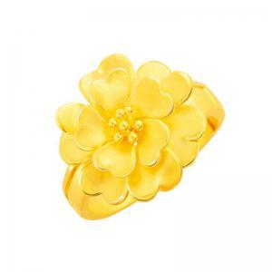 幸福花境-黃金戒指