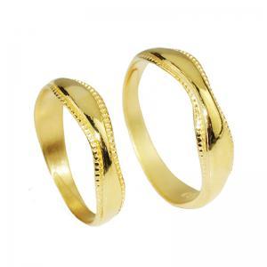 燦若繁星-黃金結婚對戒