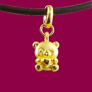 愛心熊-黃金精品
