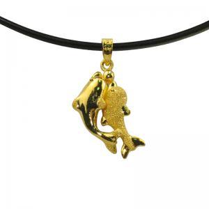 海底情深-黃金墜子