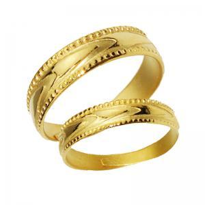怦然心動-黃金結婚對戒