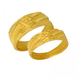 閃耀時刻-黃金結婚對戒