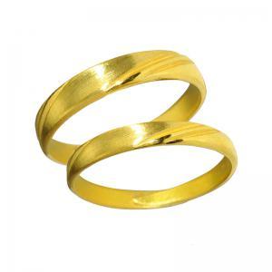 優雅典範-黃金結婚對戒