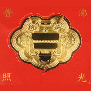 神明金牌(約2錢重)-神明金牌金飾