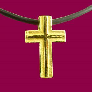 懷恩-黃金十字架金飾墜鍊