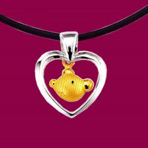 黃金墜-鼠-十二生肖金飾墜鍊