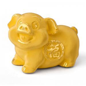 福氣豬-黃金金飾禮品