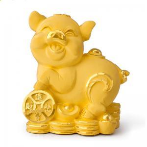 踏財豬-黃金金飾禮品