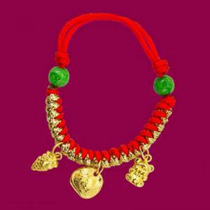 彌月手鍊(約0.65錢)-黃金彌月金飾