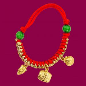 彌月手鍊(約0.6錢)-黃金彌月金飾