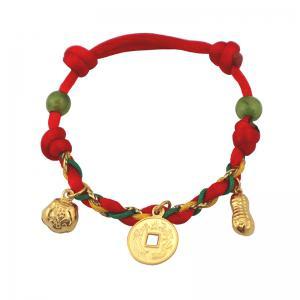彌月手鍊(約0.66錢)-黃金彌月金飾