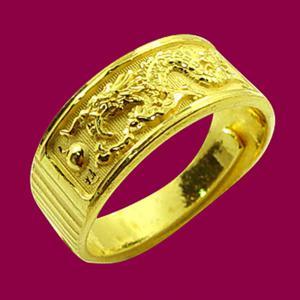 龍騰戒-黃金祝壽金飾