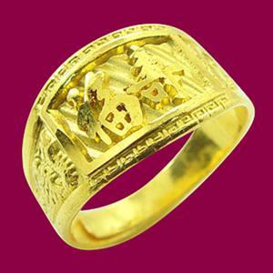 福壽戒-黃金祝壽金飾